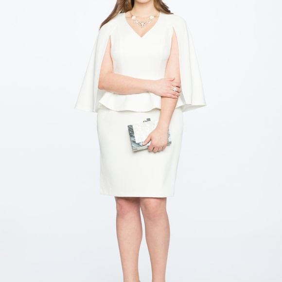 29fdff8309363 Eloquii Cape Dress